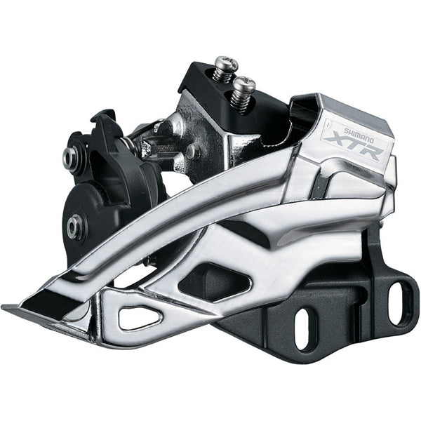 Shimano XTR FD-M985E2 Double Top Swing Front Derailleur BB mount - alex's cycle