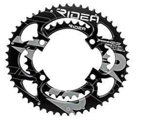 RIDEA DUO-OVAL Semi-Full Chainrings for Shimano Four arm Crank - alex's cycle