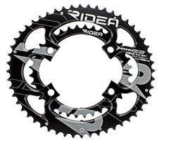 RIDEA DUO-OVAL Semi-Full Chainrings for Shimano Four arm Crank