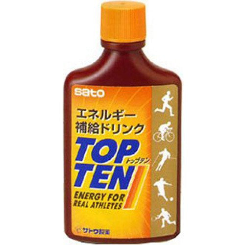 SATO TOPTEN Enrgy supplement drink - alex's cycle