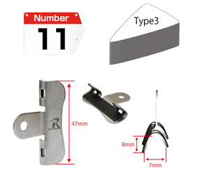 REC-MOUNT Number Plate NB-T3