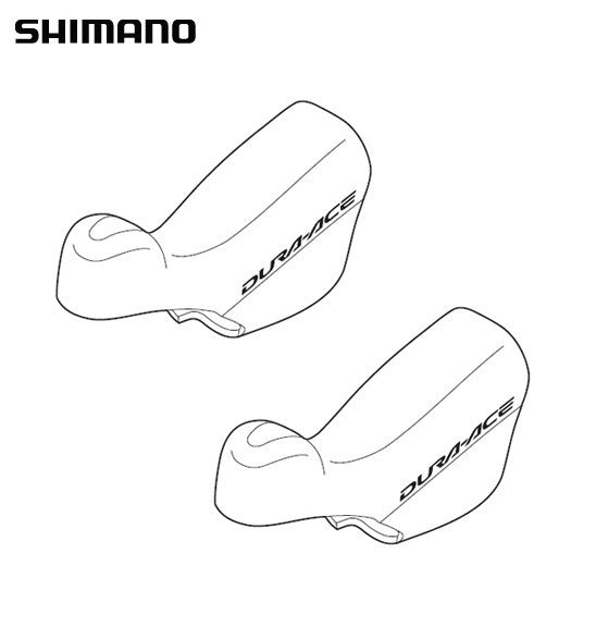 Shimano ST-7900 Bracket Cover Set Hoods Y6RT98160 - alex's cycle