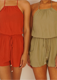 Beach Day Romper - shop dwntwn