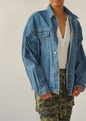 Oversized Vintage 90s Denim Jacket