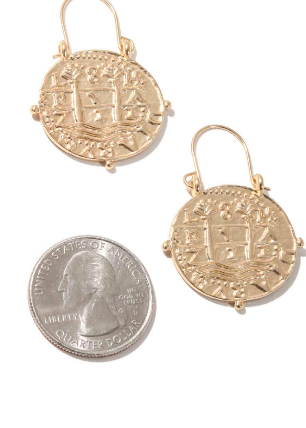 Roman Treasure Earrings - shop dwntwn