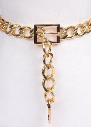Gianni Oversized Chain Belt