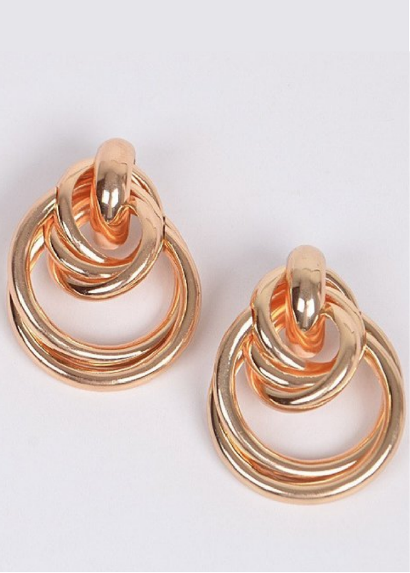 Oro Knot Earrings - shop dwntwn