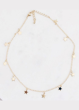 Seeing Stars Choker Necklace - shop dwntwn