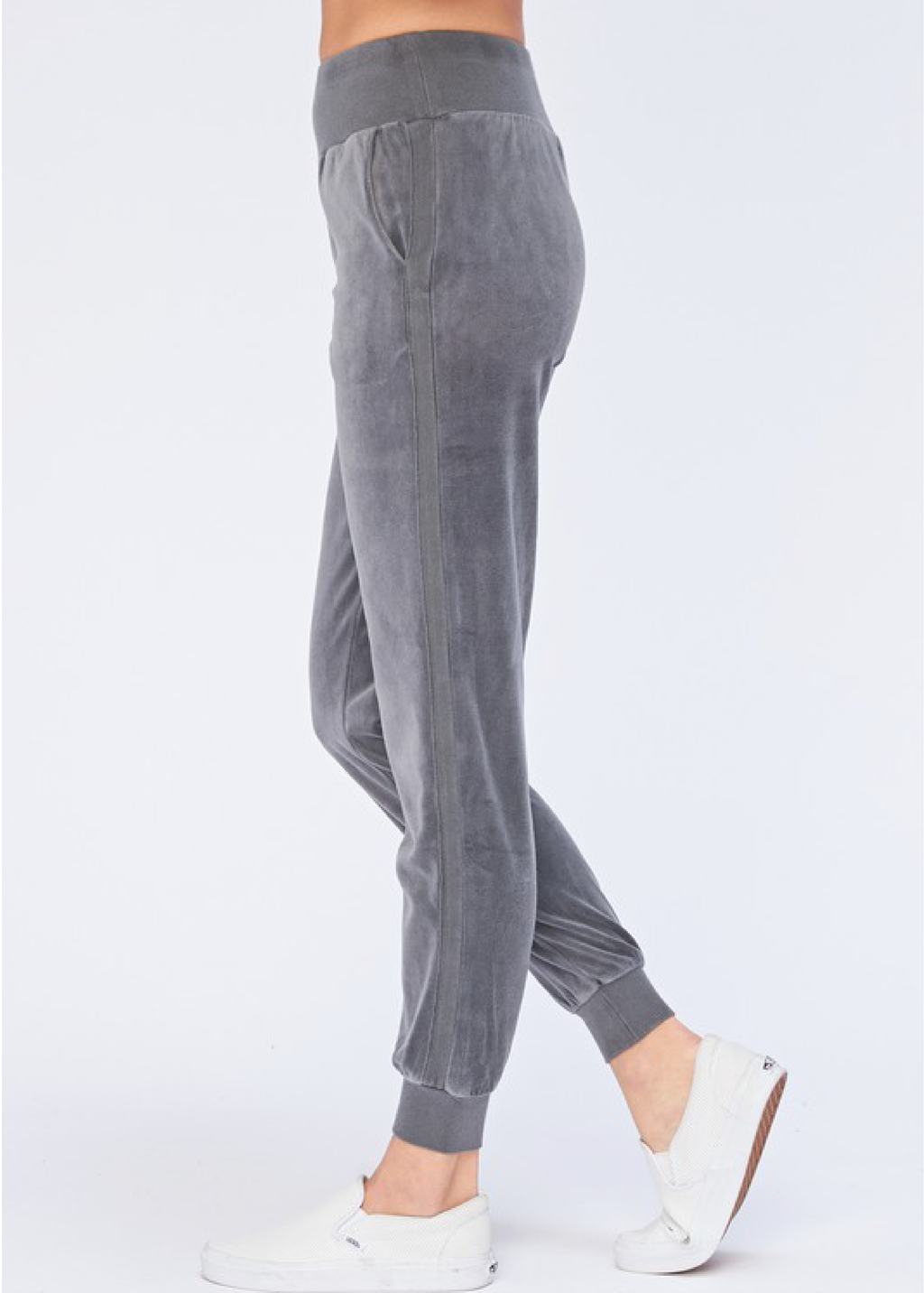Morning Coffee Lounge Pants in Blue Gray