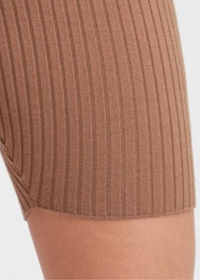 Brown Sugar Knit Shorts - shop dwntwn