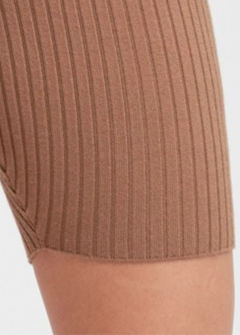 Brown Sugar Knit Shorts