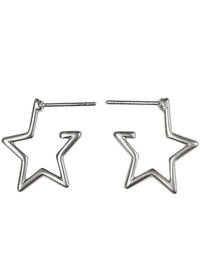 Shine Bright Shine Far Be a Star Earrings