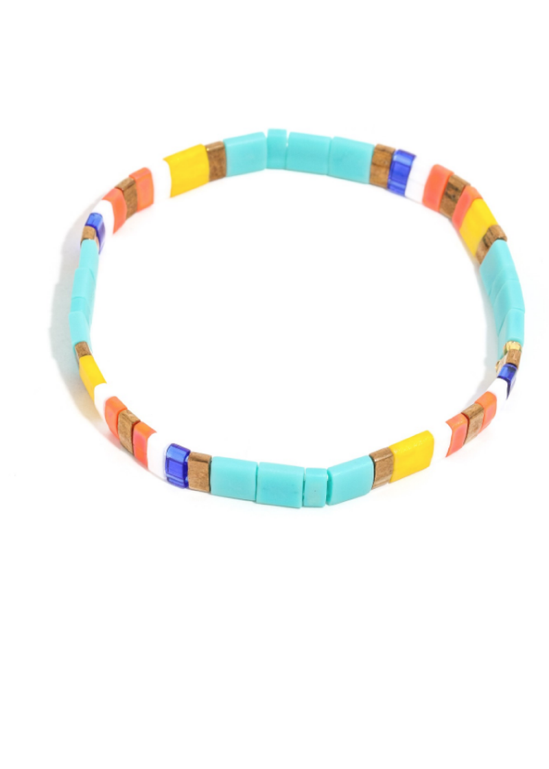 Prism Bracelet in Turquoise