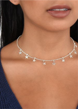 Seeing Stars Choker Necklace