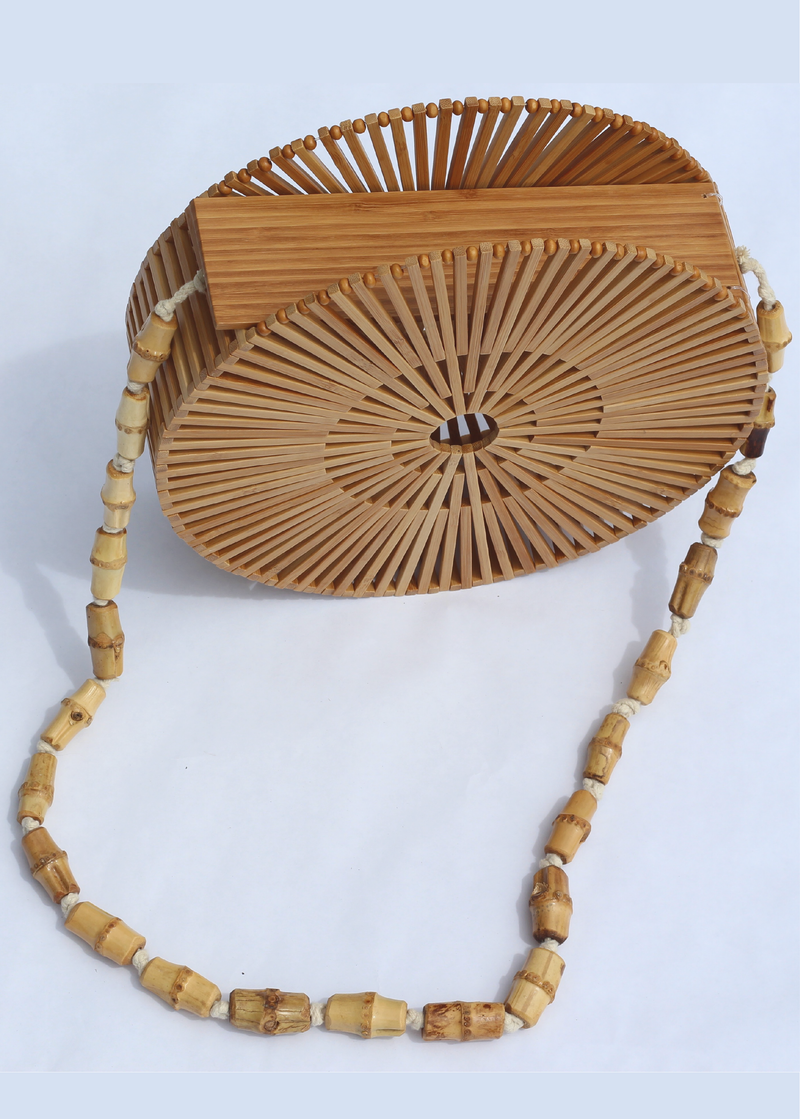 Tulum Wooden Bag