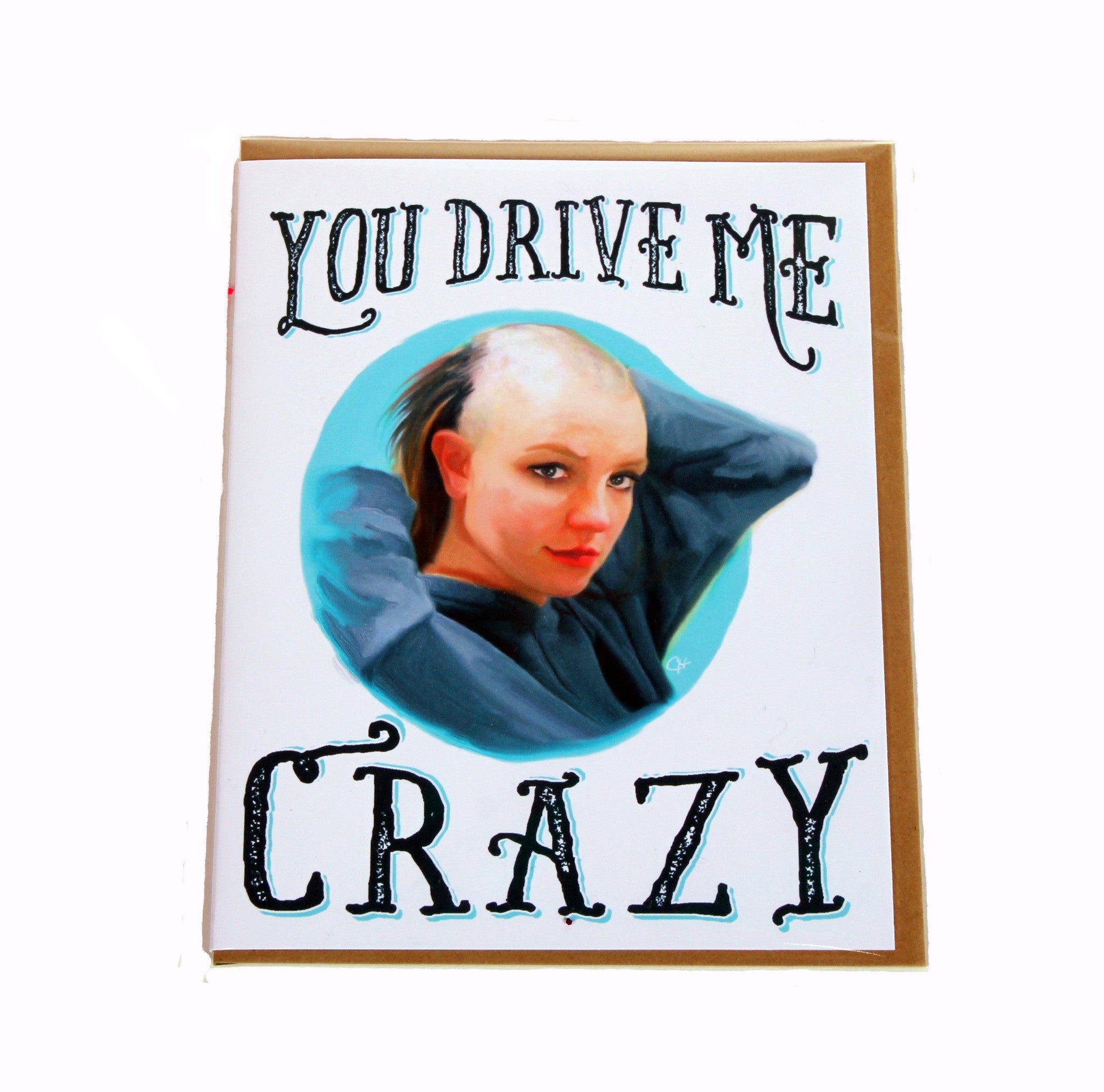 Crazy Britney Card