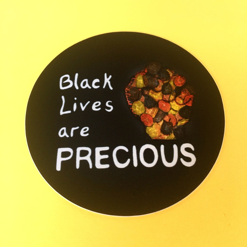 Black Lives Are Precious Sticker