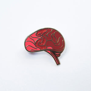 Anxiety Brain Pin