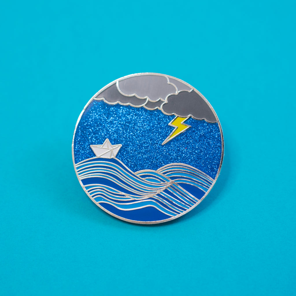 Weather The Storm Pin