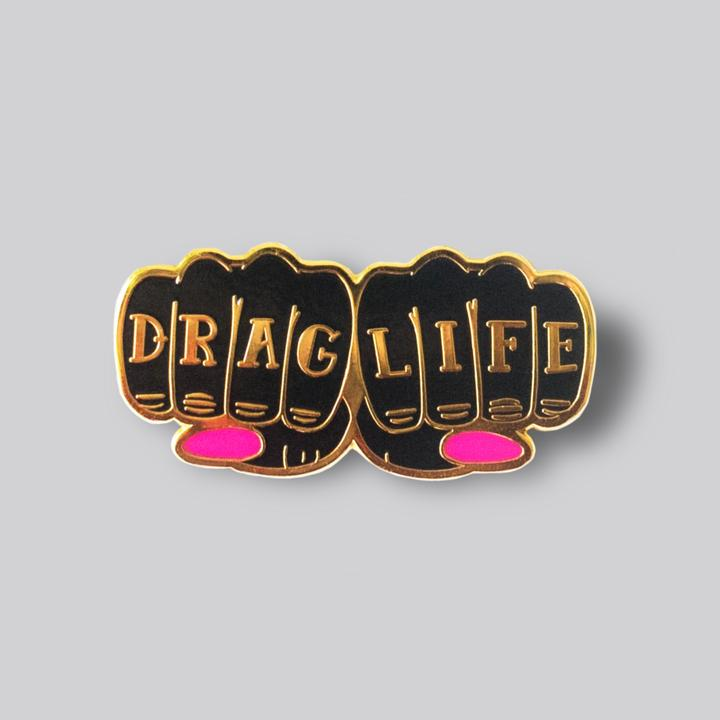 Drag Life Hands Pin
