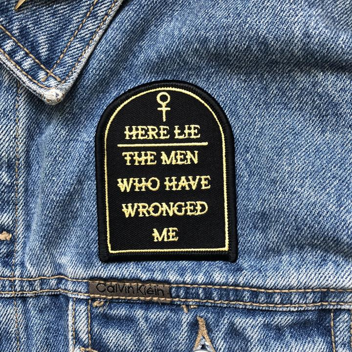 Here Lie The Men Patch
