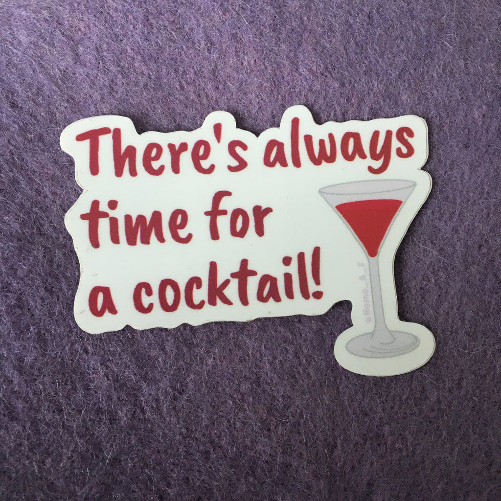 Cocktail Sticker