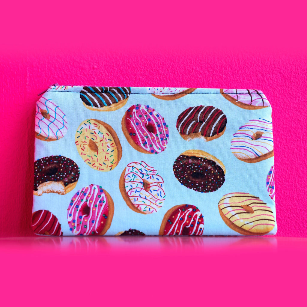 Donut Print Pouch