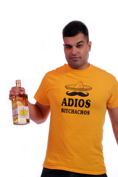 Adios Bitchachos - Men's T-Shirt