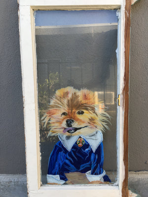 Doggy In The Window - Pet Paintings and Portraits