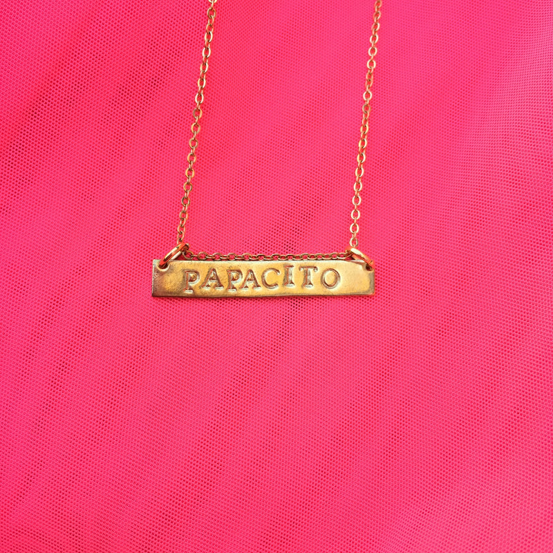 Papacito - Stamped Necklace