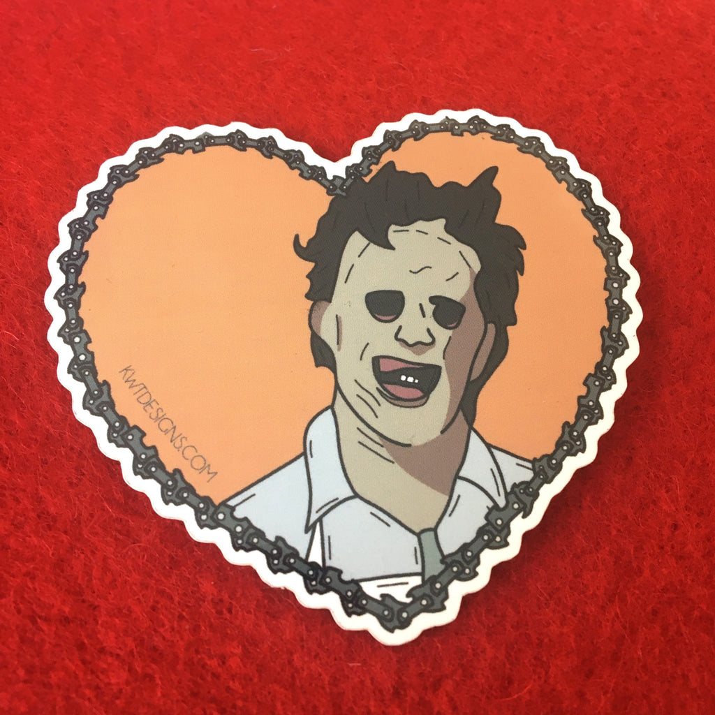 Leatherface Sticker