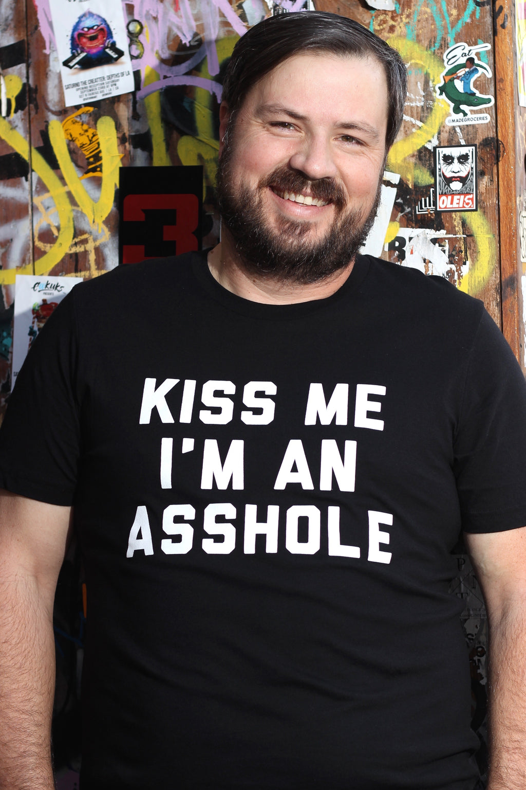 Kiss Me I'm An Asshole T-Shirt