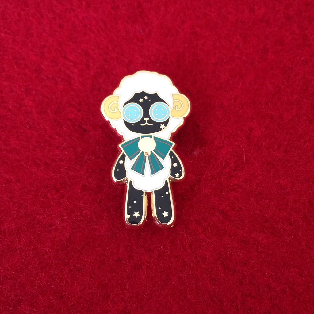 Dreaming Star Sheep Pin
