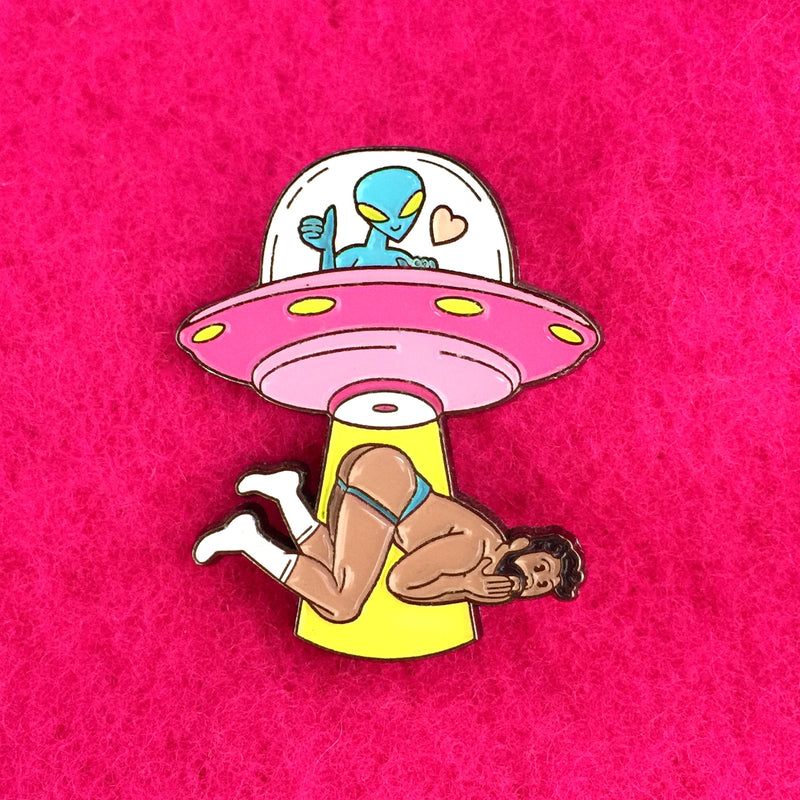 Outta This World Pin