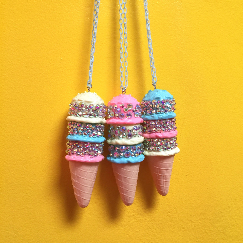 Ice Cream Chain Necklace