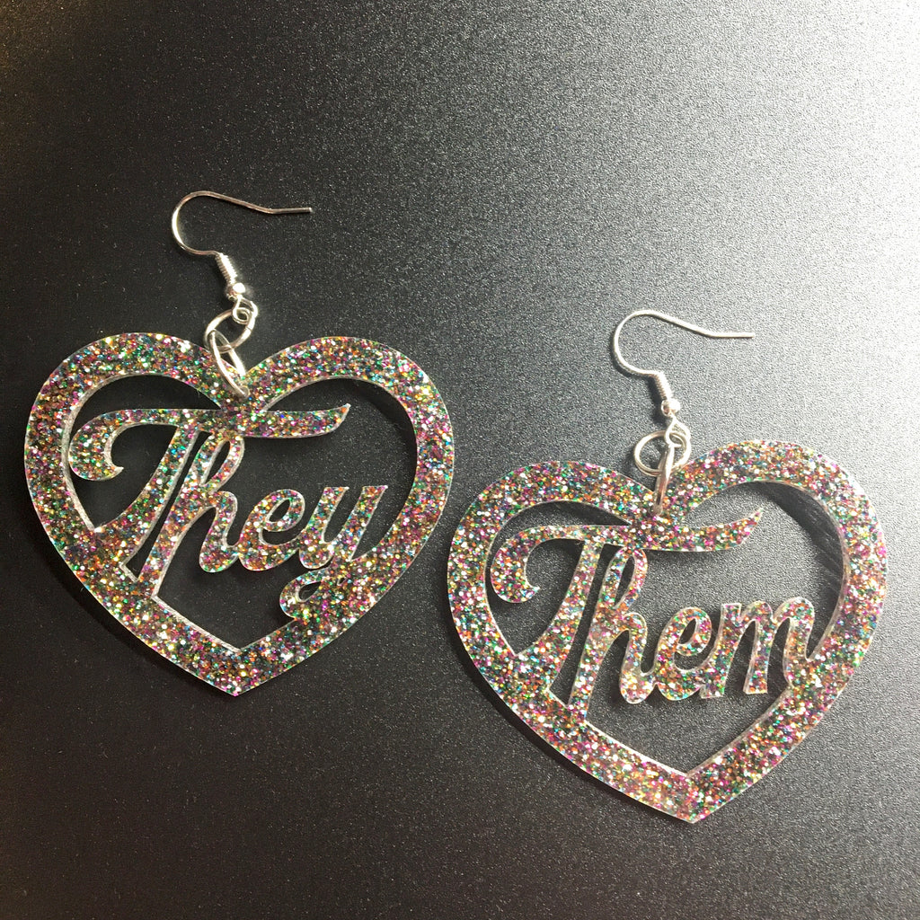 They/Them Earrings