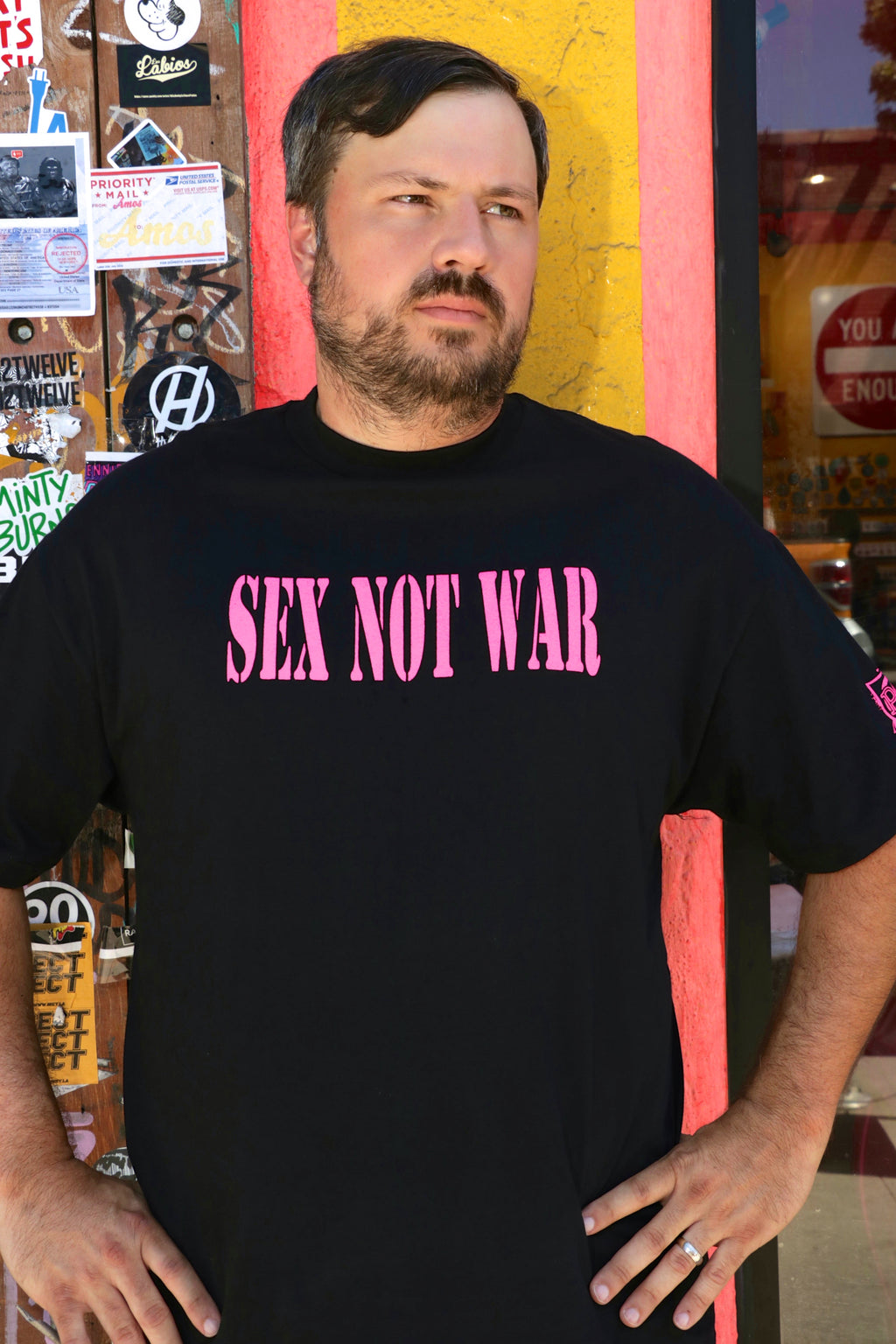 Sex Not War T-Shirt
