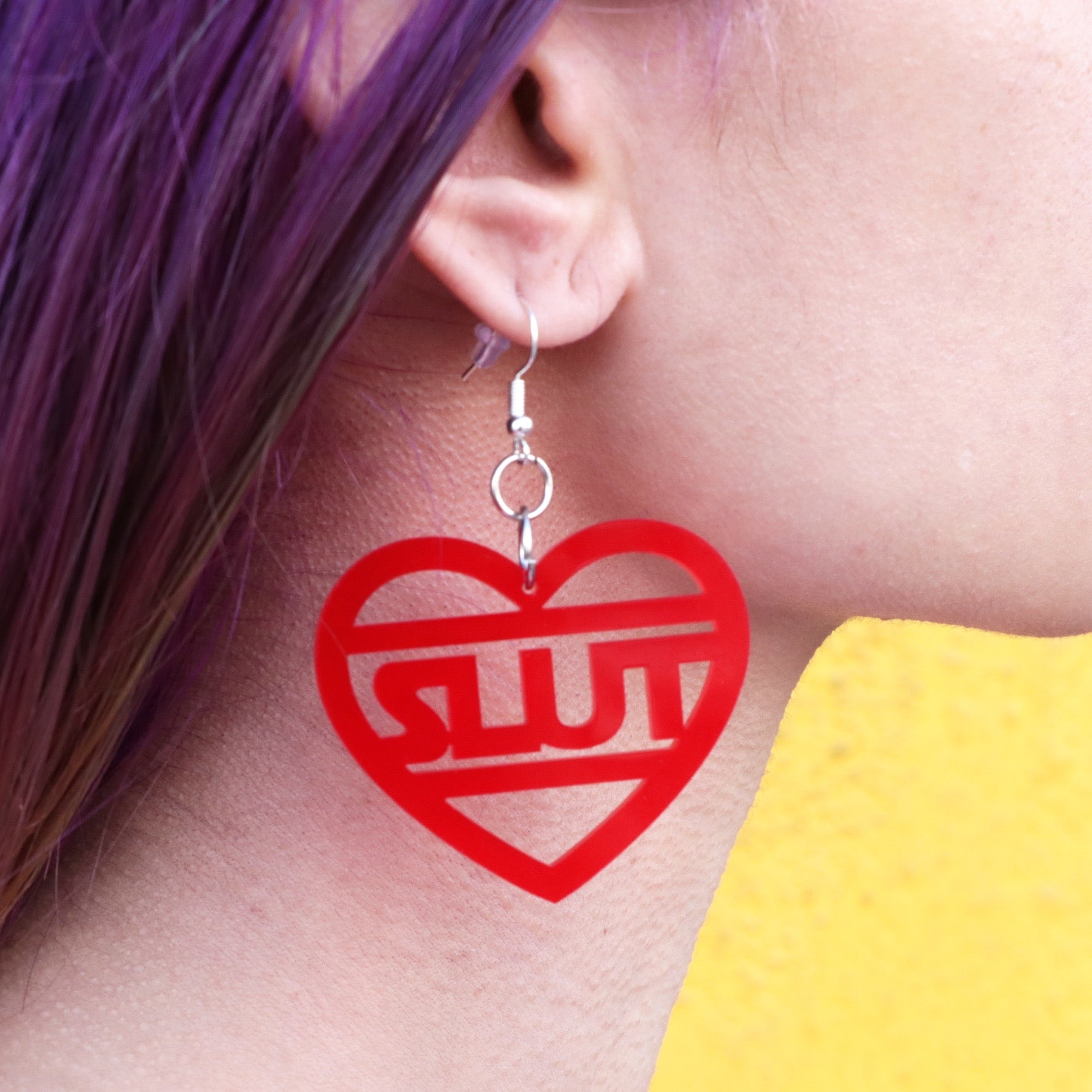 Star Wars Slut Earrings