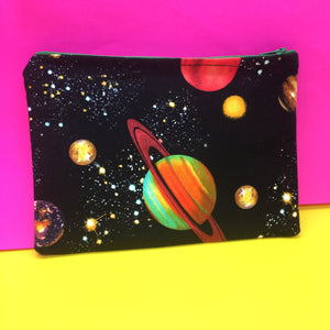 Galaxy Print Make-Up Pouch
