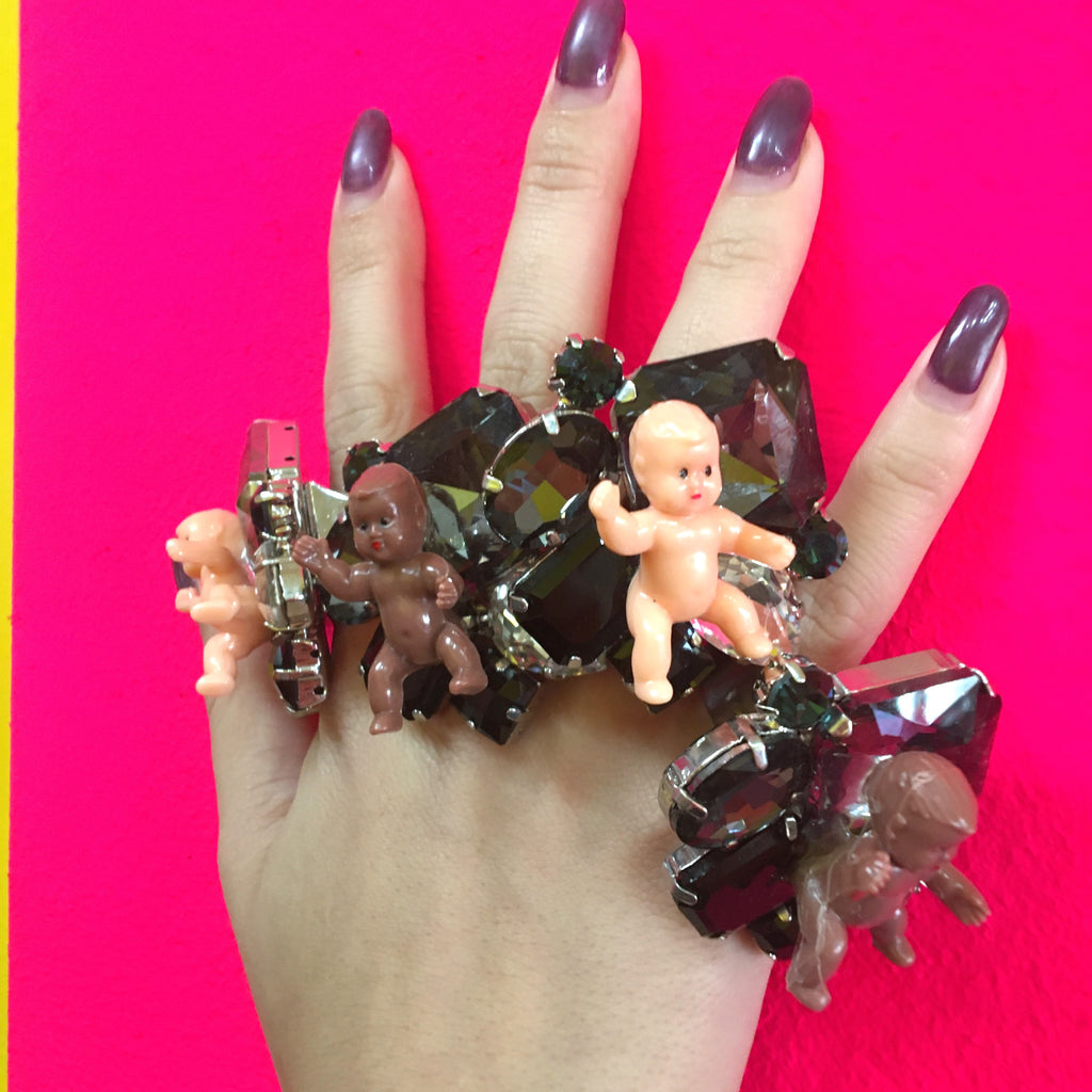 Jeweled Baby Ring