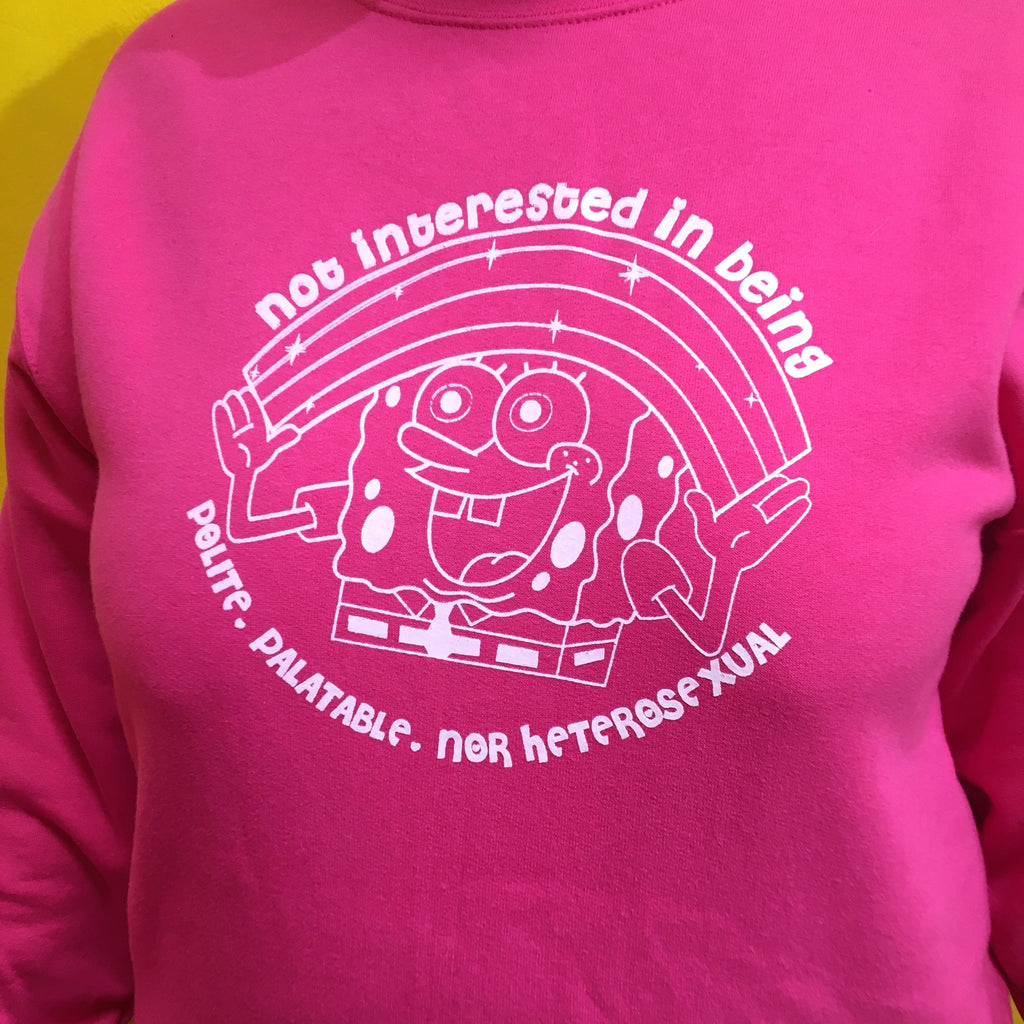 Not Interested Sweatshirt