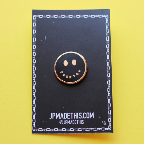 All Smiles Pin