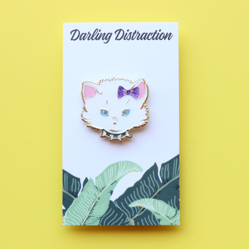 Sassy Kitty Pin