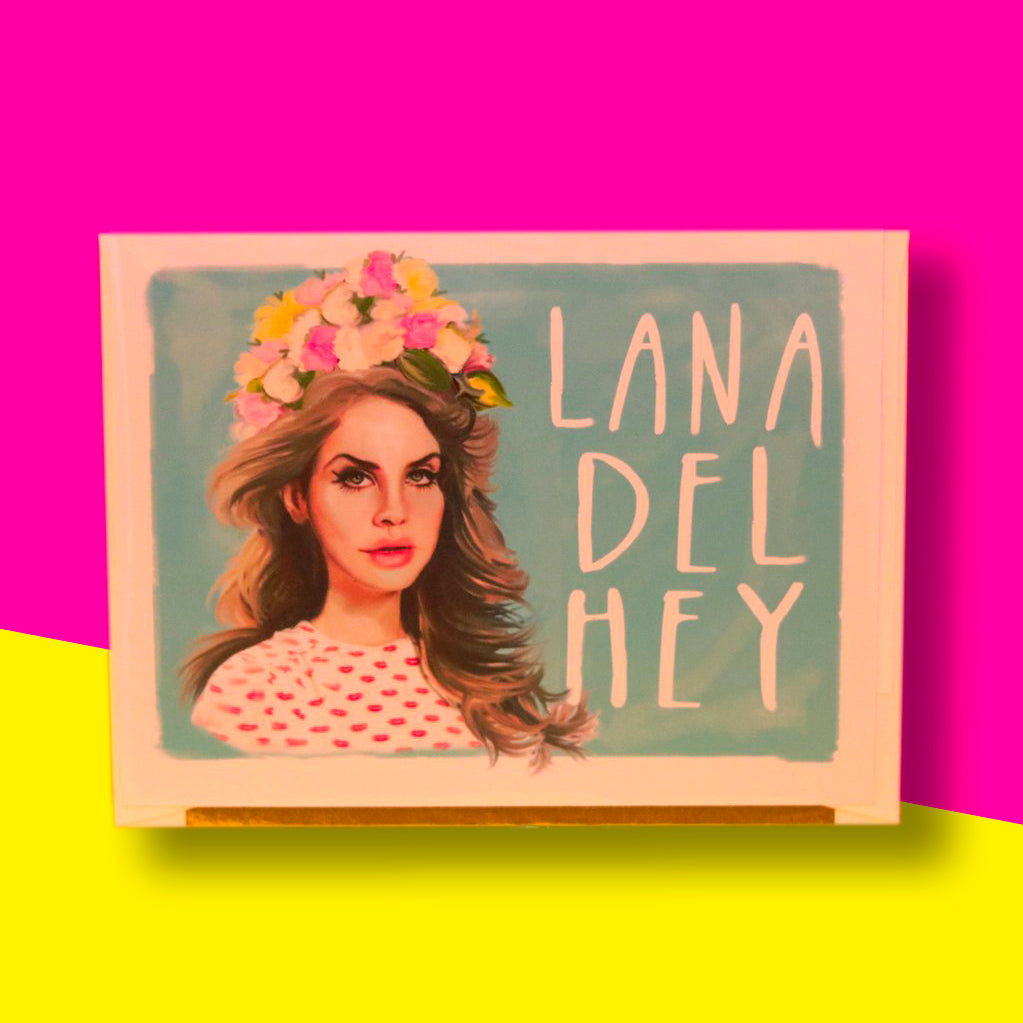 Lana Del Hey Card