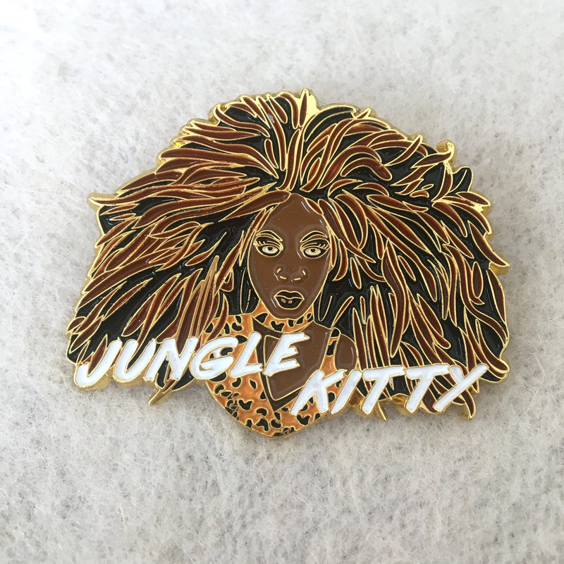 Official Bebe Zahara Benet 'Jungle Kitty' pin