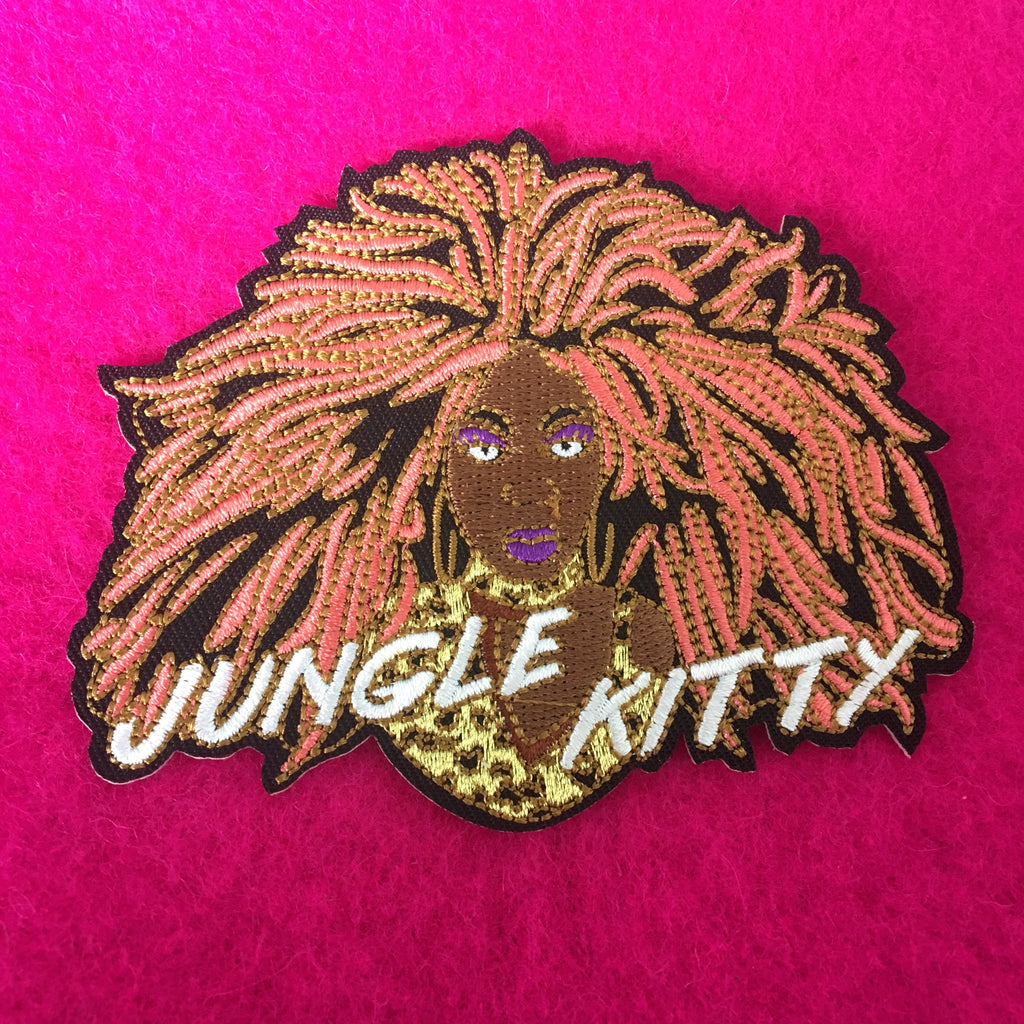 Official BeBe Zahara Benet 'Jungle Kitty' Patch
