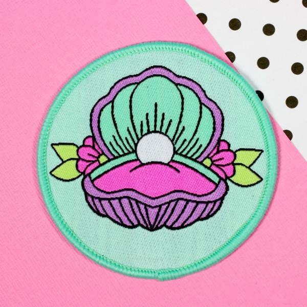 Mermaid Shell Patch