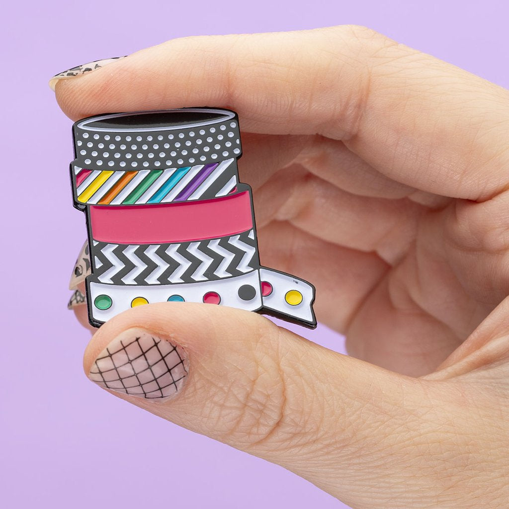 Stationery Washi Tape Pin