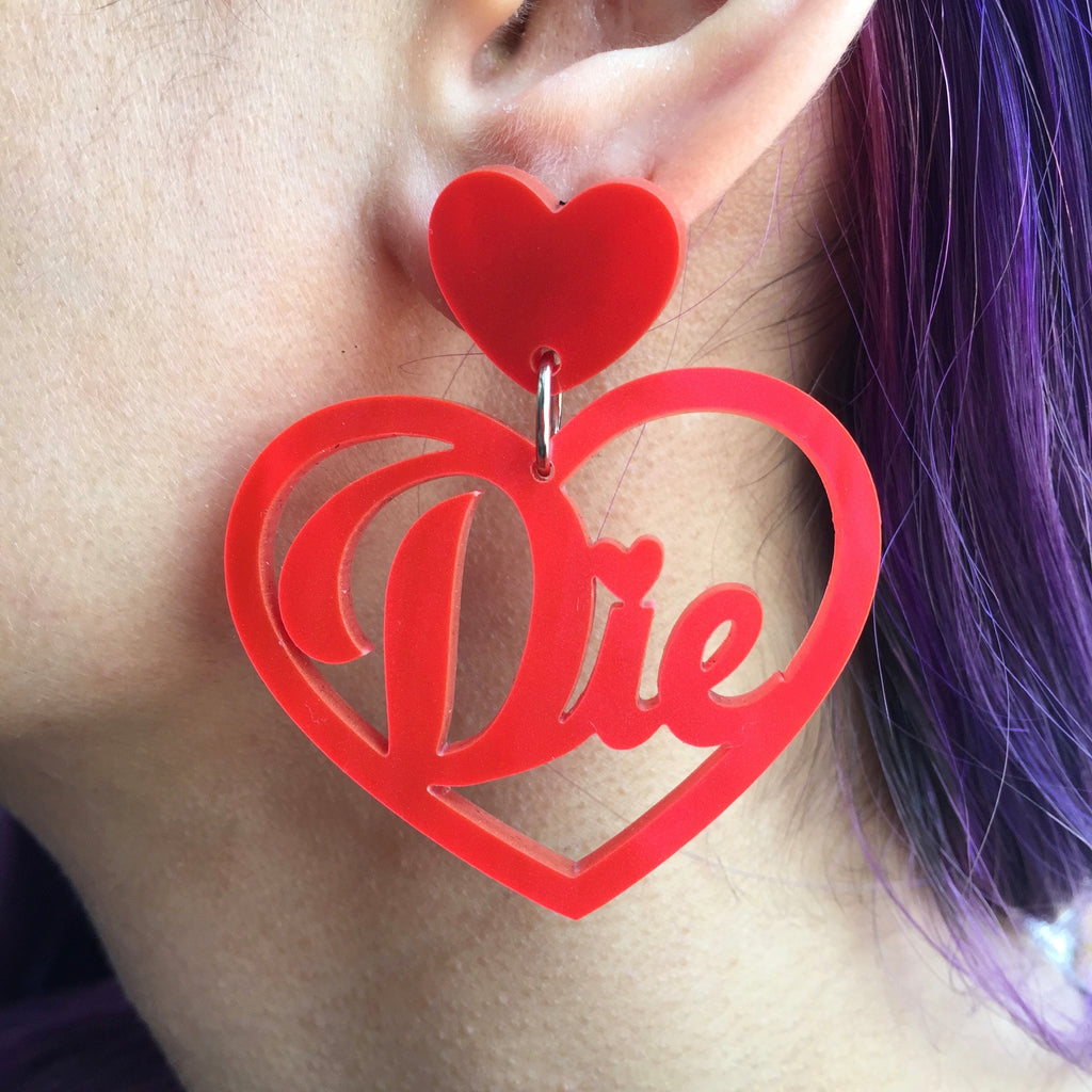 Die Earrings