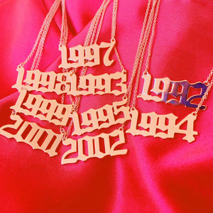 Years Necklace